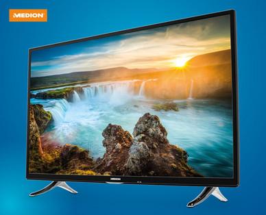 Hofer 19.7.2018: Medion Life X14906 MD 32030 49-Zoll Ultra-HD-Smart-TV Fernseher im Angebot