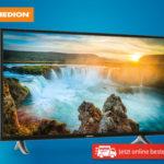 Hofer 9.7.2018: Medion X14304 43-Zoll Ultra-HD Smart-TV Fernseher im Angebot
