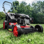 Norma 11.7.2018: PowerTec Garden Eco Wheeler 460 Benzin-Rasenmäher im Angebot