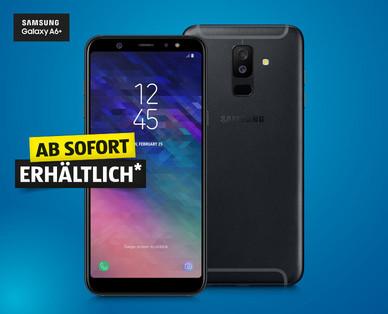 Hofer 11.7.2018: Samsung Galaxy A6+ Smartphone im Angebot