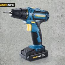 Workzone 20 V Li-Ion-Akkuschrauber: Hofer Angebot 2.8.2018 - KW 31