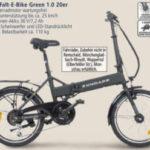 Zündapp Alu-Falt-E-Bike Green 1.0 im Angebot bei Real 11.5.2020 - KW 20