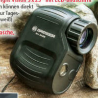 Norma » Bresser Digitales Nachtsichtgerät Night Vision 3 x 25 im Angebot » 13.8.2018 - KW 33