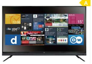 JTC Atlantis 6.5 UHD Smart-TV Fernseher • Real Angebot