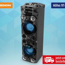 Medion Life X67015 Party-Soundsystem im Hofer Angebot ab 9.5.2019