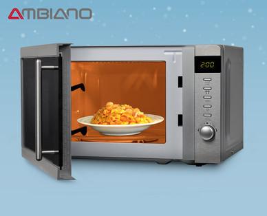Hofer 4.11.2019: Ambiano Mikrowelle mit Grill im Angebot
