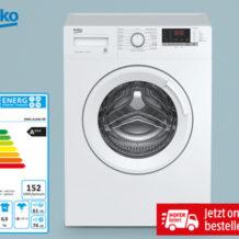 Hofer 19.9.2019: Beko Waschmaschine Frontloader Slim im Angebot