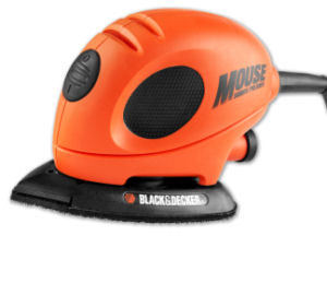 Black and Decker KW 161 BC Schleif-Mouse
