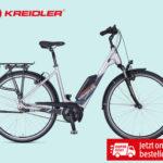 Hofer 13.9.2018: Kreidler E-Bike mit Bosch-Mittelmotor im Angebot