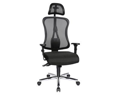 Aldi Süd | Design-Drehstuhl mit Kopfstütze von Living Style für 149€