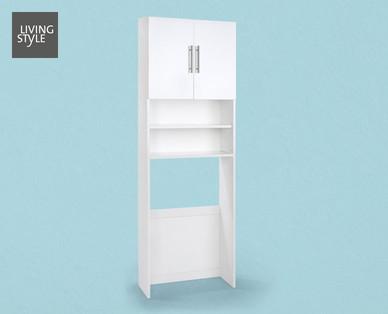 Living Style Schranküberbau für Waschmaschine im Angebot bei Hofer ab 9.9.2019