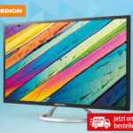 Medion 31,5-Zoll QHD-Monitor im Angebot bei Hofer 27.9.2018