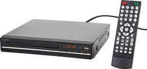 Reflexion DVD361 Kompakter DVD-Player