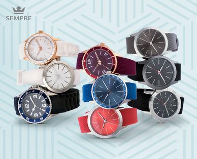 Sempre Colour Watch Armbanduhr Hofer 23.9.2019