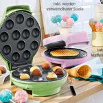 Ambiano Cake Pop- und Eishörnchen-Waffel-Maker: Aldi Süd Angebot ab 25.3.2019 - KW 13