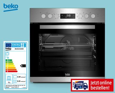 Bild von Beko Herd-Set BUE22320X im Angebot bei Hofer 12.10.2020 – KW 42