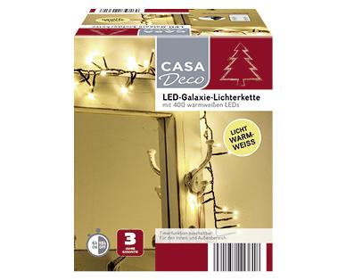 Aldi Süd | LED-Galaxie-Lichterkette von Casa Deco im Angebot