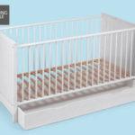 Living Style Baby-/Kinderbett und Matratze im Angebot bei Hofer 11.10.2018 - KW 41