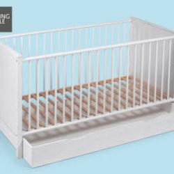Living Style Baby-/Kinderbett und Matratze im Angebot » Hofer 11.10.2018 - KW 41