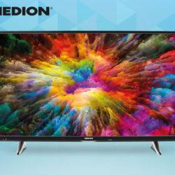 Aldi Nord 13.10.2018: Medion Life X15025 Ultra-HD Fernseher im Angebot