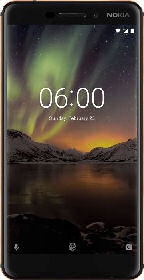 Nokia 6.1 2018 Smartphone: Real Angebot ab 9.9.2019 - KW 37