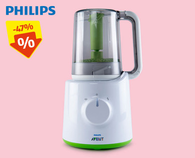 Philips 2in1 Babynahrungs-Mixer