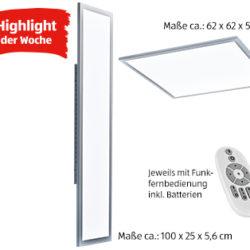 Casalux LED-Wand- und Deckenleuchte: Aldi Süd Highlight der Woche ab 20.12.2018