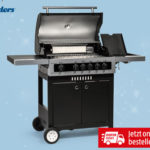 Hofer 25.4.2019: Enders Gasgriller Boston Black 4 IK im Angebot