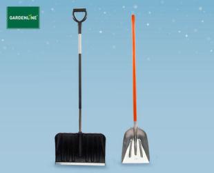 Gardenline Schneeschaufel und Schneeschieber