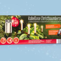 Kabellose Christbaumkerzen im Hofer Angebot ab 12.11.2018
