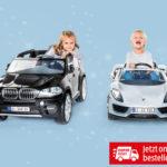 Hofer 22.11.2018: Kinder-Elektro-Auto BMW X5 und Porsche 918 Spyder im Angebot