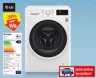 Photo of Hofer 5.12.2019: LG F14WD84EN0 Waschtrockner im Angebot