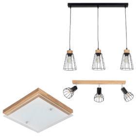LightZone Holz Wand- und Deckenleuchte im Angebot » Aldi Nord 25.11.2019 - KW 48