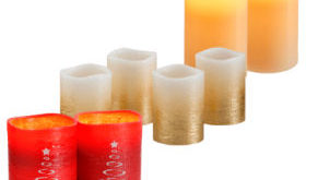 LightZone LED-Echtwachskerzen