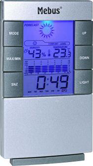 Mebus Thermo-Hygrometer 40761