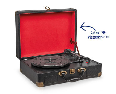 Medion Life E64084 Retro USB-Plattenspieler im Angebot » Hofer 28.11.2019 - KW 48