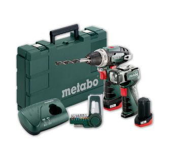 Metabo Power Maxx Akkuschrauber-Set 10,8 V