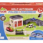 Playland Holz-Eisenbahn, Holz-Autobahn und Schienfahrzeug im Angebot | Aldi Süd 28.10.2019 - KW 44