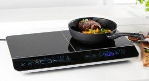 Powertec Kitchen Induktions-Doppelkochplatte