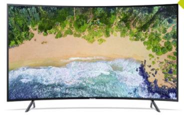 Samsung UE65NU7379 65-Zoll Curved-Ultra-HD Fernseher