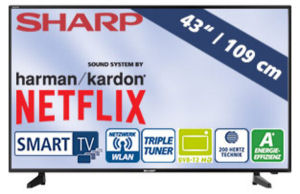 Sharp LC-43FG5242E 43-Zoll Full-HD Fernseher: Real Angebot ab 7.1.2019 - KW 2