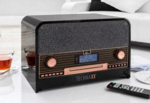 Technaxx TX-102 Retro-Komplettanlage: Norma Angebot 22.7.2019 | KW 30