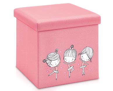 Tukan Sitz- und Aufbewahrungsbox Pink