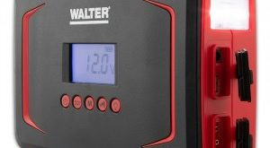 Walter Portable Multifunktionsstarthilfe mit Kompressor 5in1