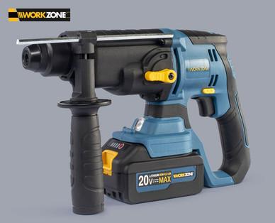 Workzone Akku Bohrhammer 20 V