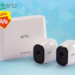 Arlo Pro 2 Sicherheitssystem mit 2 Kameras: Hofer Angebot ab 27.12.2018 - KW 52