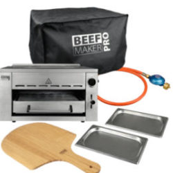 Aldi Nord 5.3.2020: Grill Time Beef Maker Pro Hochtemperaturgrill im Angebot