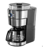 Kaffeemaschine mit Edelstahl-Mahlwerk