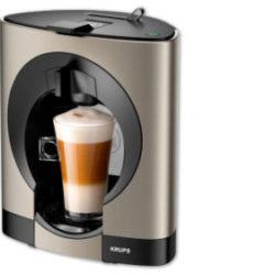 Penny 12.9.2019: Krups KP110T Dolce Gusto Oblo Titanium Kaffeemaschine im Angebot
