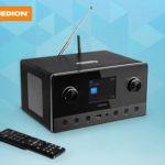 Hofer 13.12.2018: Medion WLAN Internetradio mit 2.1 Sound System im Angebot